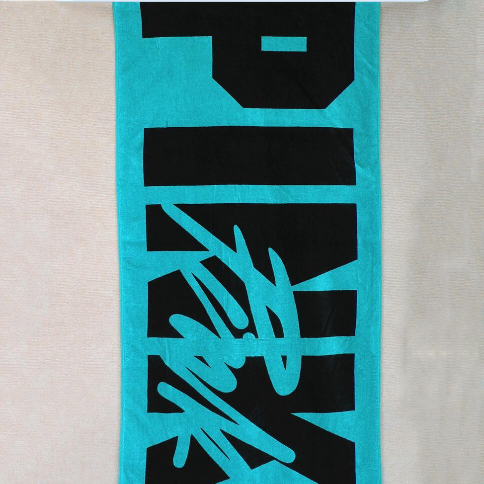 beach towel printed