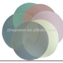 Film de polissage à fibre optique 3M à précision ultra-précise, films de polissage à fibre 1um 3um 9um de type rond avec diamètre 127mm