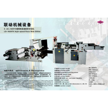 Roll Paper High Speed Flexography Web Slitter Machine (LD-1020YX)