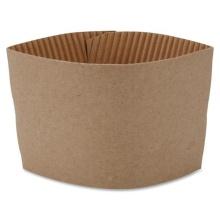 Manga impresa al por mayor de la taza de la manga del papel de la taza del café sólo con el logotipo de encargo