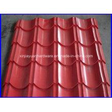 Feuille de toit en acier inoxydable revêtue de couleur pour bâtiment