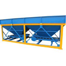 Factory supplier PLD800 ready mixed mini concrete batching plant with 2 hooper