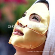 Nano Gold Face Mask Collagen Hyaluronic acid Vitamins oro antiarrugas mascarilla