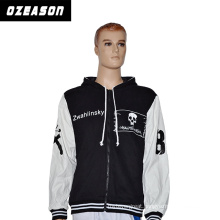 High Quality Customized Polyester Fleece Winter Jacket Hoody for Men