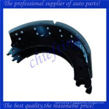 XK2124707QP haute qualité robuste camion de frein chaussure 4707