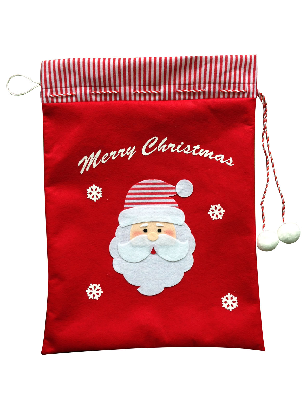 Traditional Christmas Gift Bag