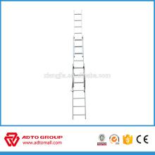 échelles d'extension d'escalier de secours en aluminium