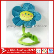 Fahion дизайн фаршированные улыбающиеся плюшевые цветы