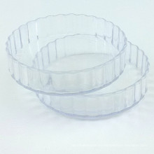 PP / PS Discos de plástico desechables platillo pequeño plato redondo