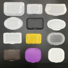 couverture en plastique de lingettes humides de PE de tissu