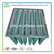 моющийся средняя эффективность карманный воздушный фильтр для кондиционера воздуха ОВКВ
