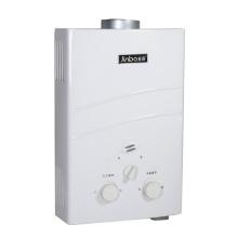 6L / 7L Faible pression d'eau Type de fumée Chauffe-eau à gaz instantané
