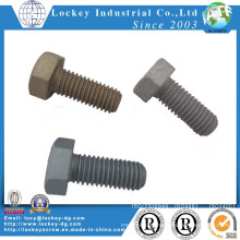 Carbon Steel Hex Head Screw Hex Head Bolt DIN933