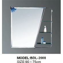 5mm Thickness Bathroom Silver Glass Mirror (BDL-2008)