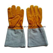 Оптовые сварочные перчатки TIG Cowhide с дешевой ценой