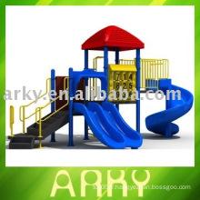 Slide combiné extérieur pour enfants