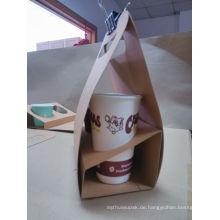 Umweltfreundliche Mitnehmer Papier Food Box Food Grade Kaffee Takeway Box