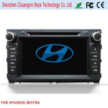 Lecteur DVD vidéo voiture avec Bluetooth pour Hyundai Mistra