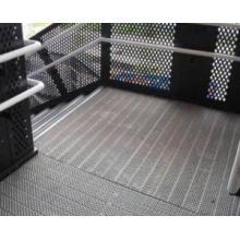 Interlock Safety Grating Plank Flooring O Grip Perforated Metal Steel