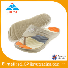 2016 China factory price latest style men EVA slipper flip flop