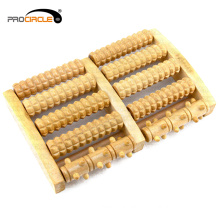 Home Use Body Health Care Wooden Foot Massage Roller