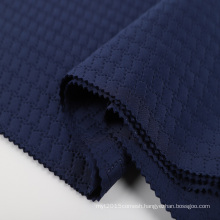 Emboss fabric 3d embroidery fabric custom pattern 75/72 95% polyester 5% spandex Knitted Scuba Fabric