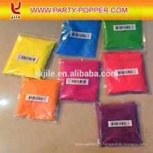 Air comprimé comprimé vente chaude Party Holi couleur poudre Confetti