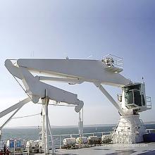 Marine Deck Crane Ship Hydraulic Crane