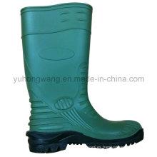 Moda de caucho de PVC Wellington botas de lluvia / zapatos