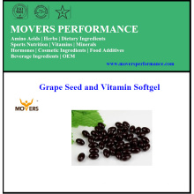 Top Qualität reiner Traubenkern und Vitamin Softgel