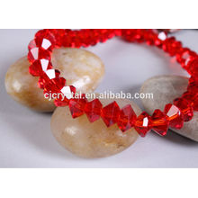 glass beads for Christmas decoration flying saucer glass beads