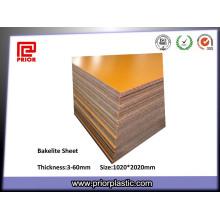 Best Selling Insulation Bakelite Phenolic Paper Laminated Sheet
