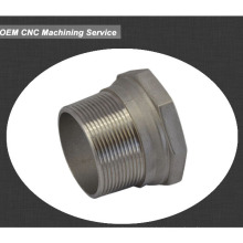 aluminum cnc machined parts metal sleeve bushing grooved bushing