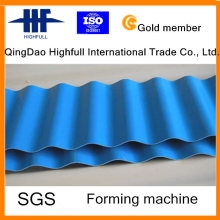 Color Steel Roof Steel Metal Roll Forming Machine