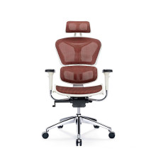 China manufacturer orthopedic sitting chairs white office chair no wheels