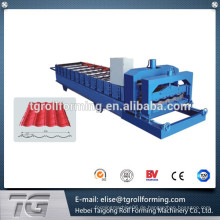CE-zertifiziert Glazed Fliesen-Dach-Cold Roll Forming Machine in China hergestellt