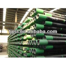 tubos sem costura com invólucro de óleo de rosca