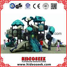 Kids Play Set Outdoor Playground Equipment Plastic Slides