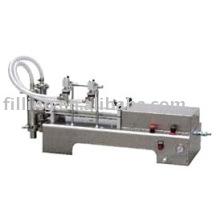 Двухголовочная полуавтоматическая машина для наполнения жидкостью SYF