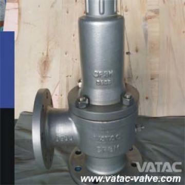 Fabricante de válvula de seguridad de baja elevación A216 Wcb / Lcb / Wc6 / Wc9 / CF8 / CF8m