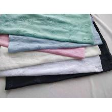 100% Polyester Chiffon Faltenstoff