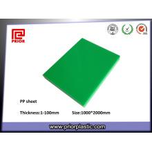 Folha de Plástico de Engenharia PP com Baixa Densidade
