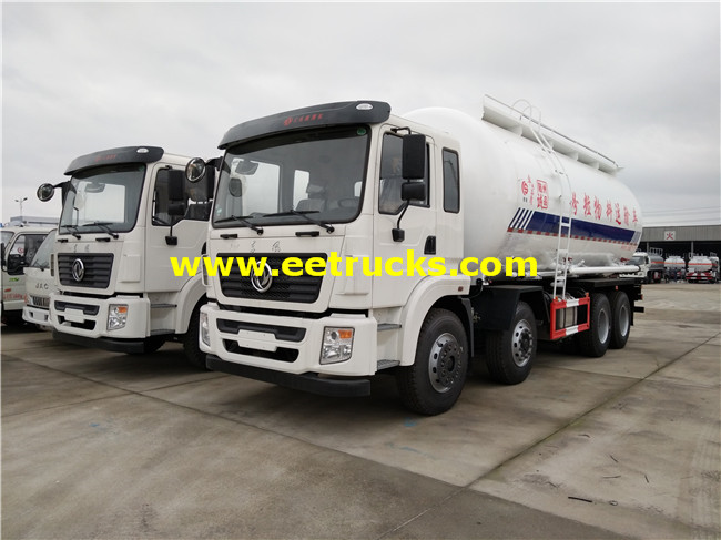 Dongfeng Dry Particle Tanker Trucks