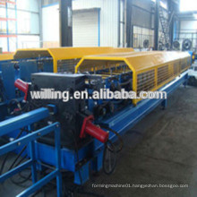 Steel downpipes machine of different type