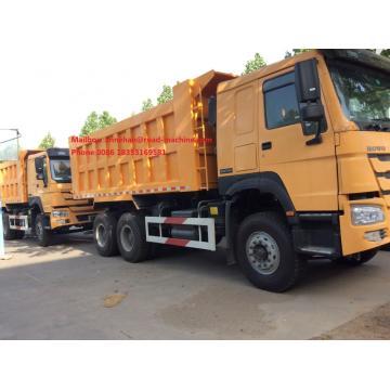 Camião basculante de 336HP LHD Sinotruk Howo 6x4