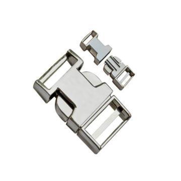 Flat Metal Release Buckle 10mm~25mm Dp-2363