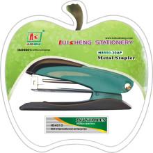 Grampeador de escritório com cartão blister e uma caixa de grampos ((HS550-30AP)