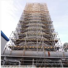 Équipement chimique Grand échafaudage vertical