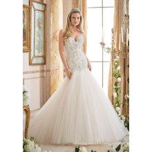 Sexy Diamond Beading Mermaid Wedding Dress (2874)