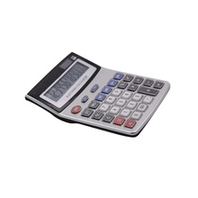 Large display 12 digits office desktop calculator